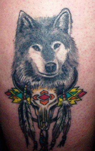 Populaire Superbes images de tatouages loup - Partie 2 - Tattooimages.biz DR06