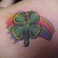Un Gros Tatouage De Croix Celtique Sue Le Dos Tattooimages Biz
