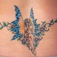 Le tatouage d 39 alice au pays des merveilles avec une chenille - Tatouage chat alice au pays des merveilles ...